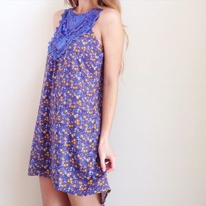 | new | floral lace dress