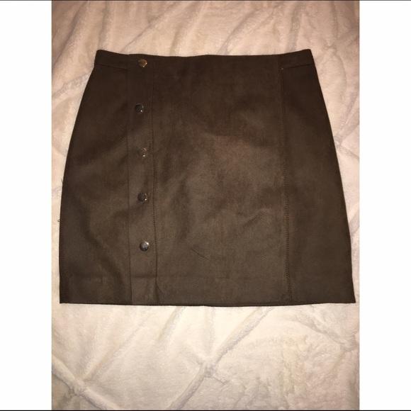 78d2b1e6fade Zara Skirts | Snakeskin Leather Mini Skirt | Poshmark