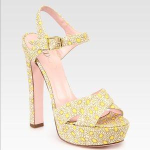 RED Valentino Shoes - [RED Valentino]daisy platform sandal