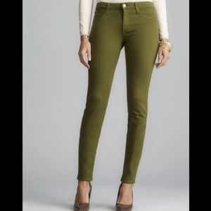 Joe's Jeans the Skinny Pant in Moss Army Green