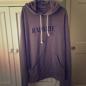RODARTE HOODED SWEATSHIRT
