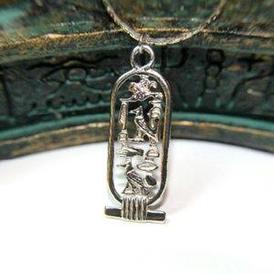 🔴Last Price Drop! Egyptian hieroglyph pendant