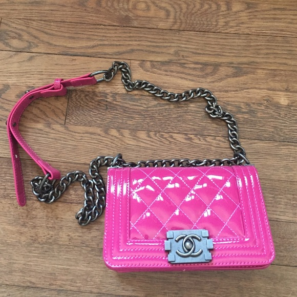 a8020fb11e45 Bags | C H A N E L Small Boy Toyboy Cross Body Bag | Poshmark