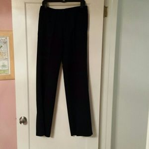 Black suit pants