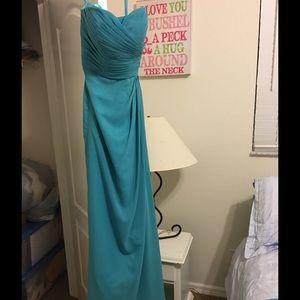 Dresses & Skirts - Turquoise bridesmaid dress