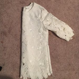 Other - White Lace Top