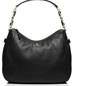 kate spade Handbags - NWT Kate Spade Black Leather Pine Street Finley
