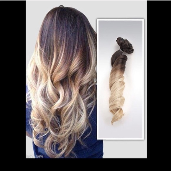 Accessories Final Sale Onepiece Balayage Ombr Hair Extensions