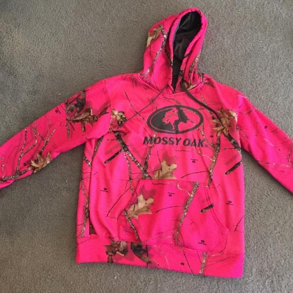 28ed353dcd2d0 Mossy Oak hot pink camo hoodie. M_56d5e39dbcd4a77383015d4c