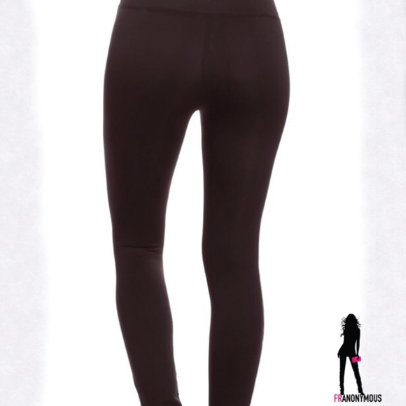 44% off Electric Yoga Pants - HP🎉Ballerina Wrap Black Yoga Pants ...