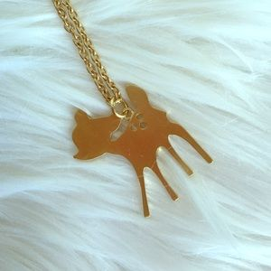 NEW Super cute Bambi/deer necklace