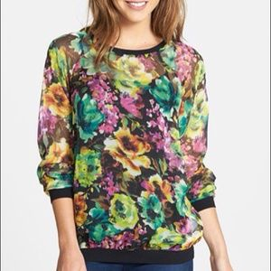 Tops - KUT floral blouse (ag)