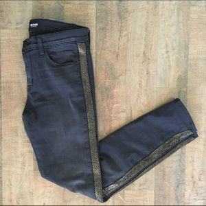 Hudson Jeans Denim - HUDSON Mid-rise Ankle Luna Cosmonaut Grey