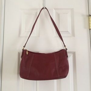 Beautiful Red Leather Bag