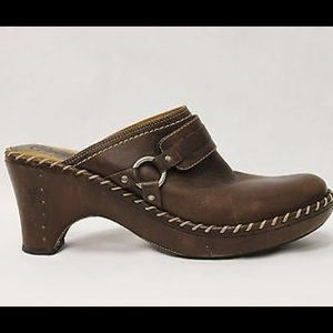 Frye Leather Clog