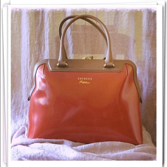 Iacucci Bags Italian Leather Handbag Nwot Poshmark