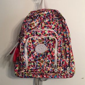 Brand New with Tags Kipling full size backpack.