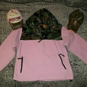 Tops - Mossy oak , browning camouflage
