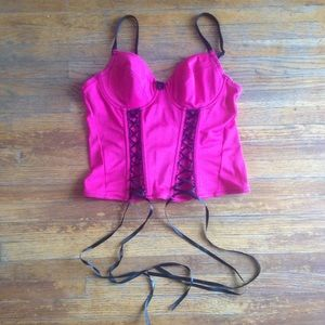 Tops - ⭐️Closet Clear Out ⭐️ Pink Corset 34b