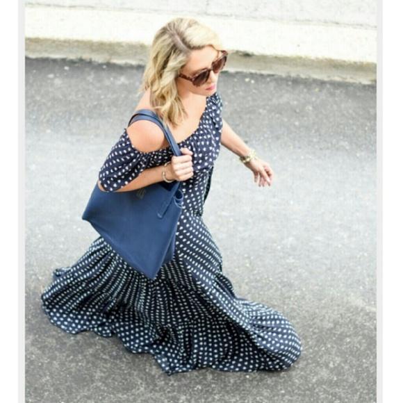 Loft french hen maxi dress