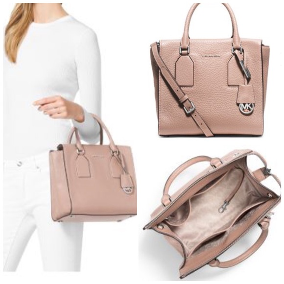 c14e237d98d7 Michael Kors Bags | Selby Medium Leather Satchel | Poshmark