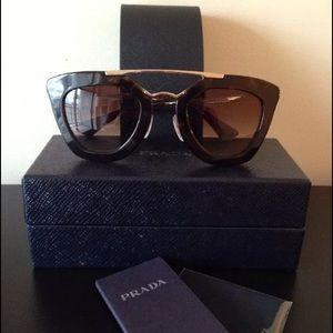 Prada Cinema Cat Eye Sunglasses