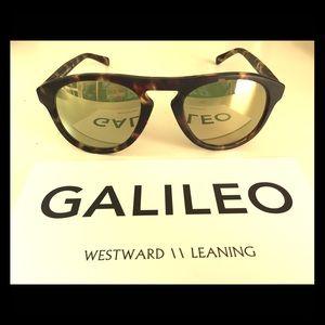 Westward Leaning Accessories - WESTWARD LEARNING Galileo sunglasses - leopard