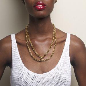 Soko Jewelry - [Soko]chain loop necklace