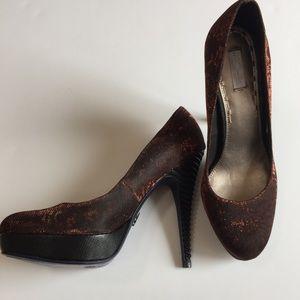Rachel Roy Shoes - Rachel Roy Red Shimmer Pumps NEW Size 9.5