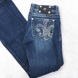 🆕 Miss me jewel embellished distressed boot jeans
