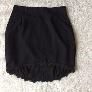 Tildon Dresses & Skirts - Black Tildon High Low Skirt