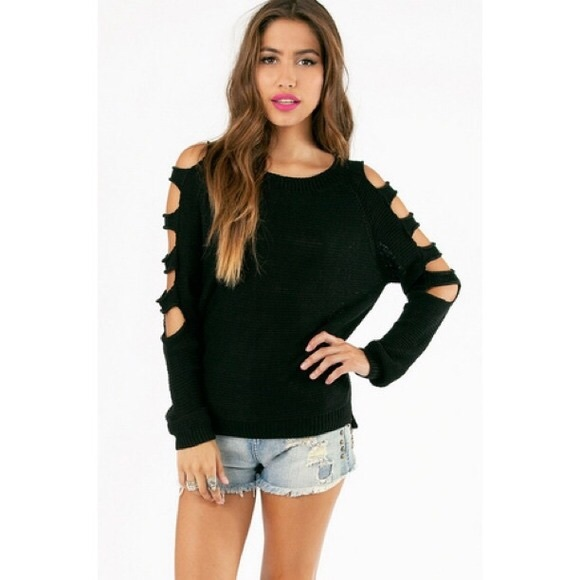 Women'S One Arm Sweater 24