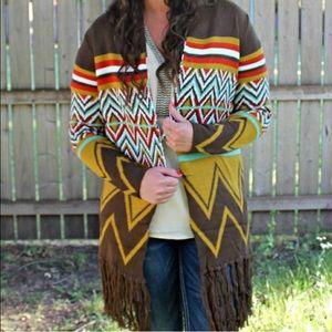 Beautiful tribal cardigan