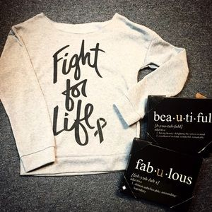 Sweaters - Fight for LIFE sweater