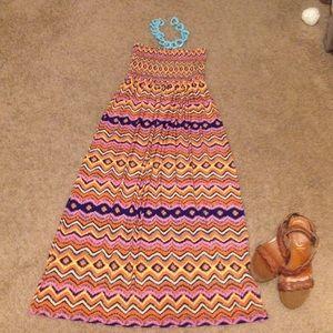 Dresses & Skirts - Fun Vibrant Maxi Dress