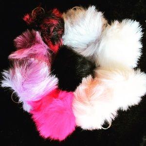 Fur Ball Key Chains - Nineashs.com