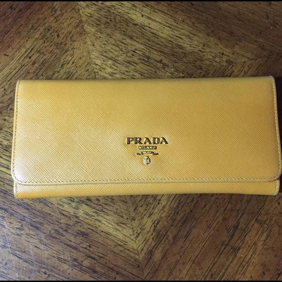 48% off Prada Handbags - Prada Saffiano Wallet (authentic) from ...