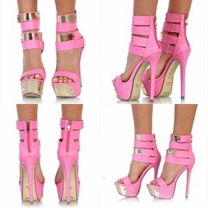 3b58214ee0e1 Love Melrose Shoes -  CLEARANCE  🆕 Hot Pink Stilettos