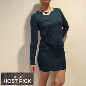 Zara Dresses & Skirts - ZARA Side Knot Dress