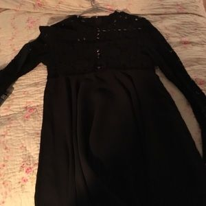 Dresses & Skirts - Absolutely STUNNING black, baby doll dress.