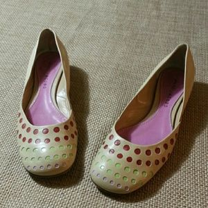 Marc Jacobs Shoes - Marc Jacobs Leather Granny Flats -SIZE 7  1/2