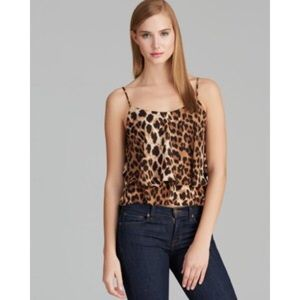 OFFER!✨Olivaceous Animal Printed Leopard Tank Top