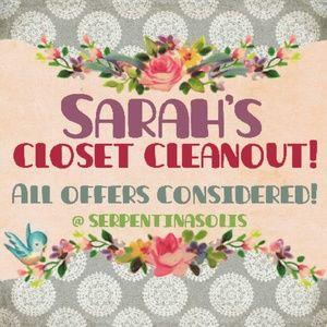 💜I need the closet space!💜
