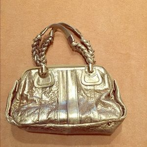 Chloe gold bag