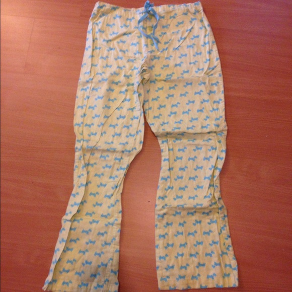 Victorias Secret Yorkie Pajama Pants Sz Small