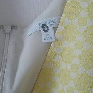 Piperlime Dresses - Medium  bright yellow Piper Lime high low dress.