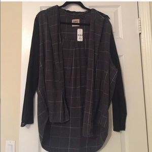 LF Other - LF flannel with mesh sleeves and hood