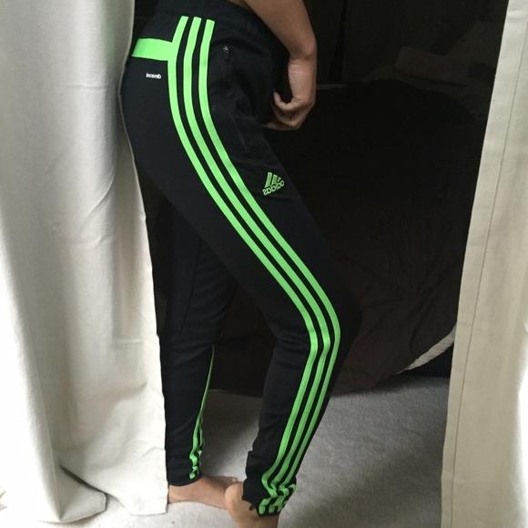 soccer pants skinny adidas