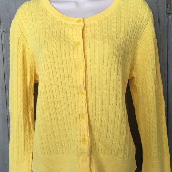 72% off Lilly Pulitzer Sweaters - Lilly Pulitzer yellow (banana ...