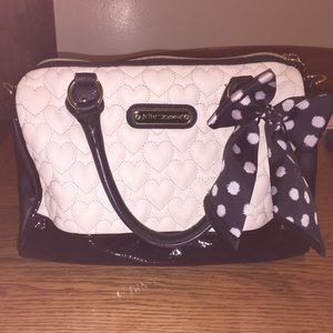 89e1a711319 betsey johnson bags purse with matching wallet poshmark ...